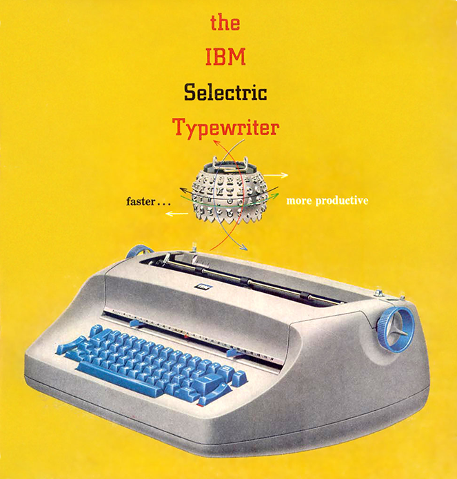 IBM selectric keyboard